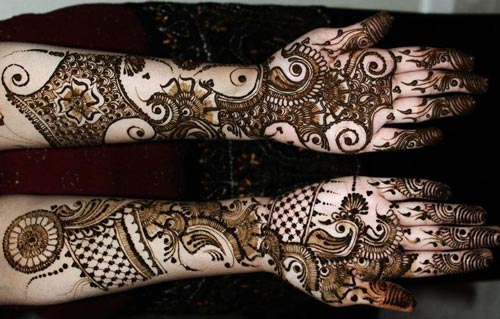 New Dulhan Hand Mehndi Designs Pics Wallpaper Free Download