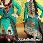 Tawakkal Fabrics Winter Shalwar Kameez Designs 2015 Fashion