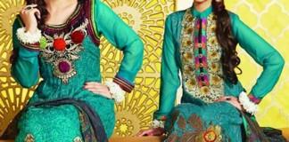 Fashion Trend Tawakkal Fabrics Collection Winter Shalwar Kameez Designs 2015 for Women Girls Facebook
