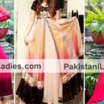 Double Open Shirt Style Tail Gown Frocks Plazo Dresses