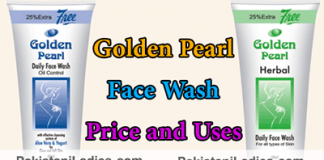 Golden Pearl Herbal Daily Face Wash Price and Uses Oily Skin Oil Control Review