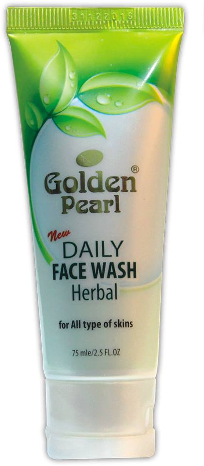 Golden Pearl New Herbal Face Wash Golden Pearl Herbal & Daily Face Wash Oily Skin Price
