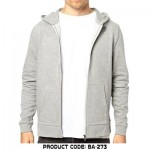 Gray Men Boys Hoodies Winter 2015 Stylish New Arrival Zip Up Pull Over Prices Pakistan