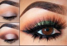 Green smoky eyes, Smokey Eyes Makeup Tips in Urdu English