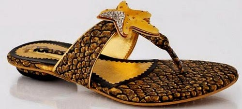 Gul Ahmed Ideas Women Shoes Chappal Multicolor Sandals