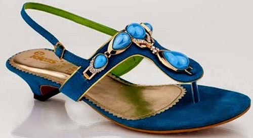 Gul-Ahmed-Ideas-2015-Women-Shoes-Flat-Chappal-Sandals-Slippers