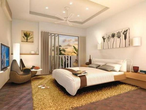 Home decoration bedroom designs ideas tips pics wallpaper Bedroom wall designs in pakistan