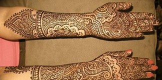 Indian New Dulhan Mehndi Designs for Hands Pics Images Wallpaper Free Download