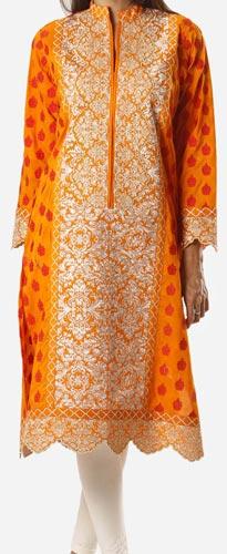 Khaadi Khaas Cloth Winter 2015 Prices Women Kurta Kurtis Long Shirts PKR-10,000