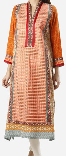 Khaadi Khaas Cloth Winter 2015 Prices Women Kurta Kurtis Long Shirts PKR-5,000