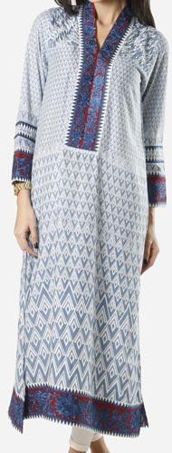 Khaadi Khaas Cloth Winter 2015 Prices Women New Girls Kurta Kurtis Long Shirts -5000
