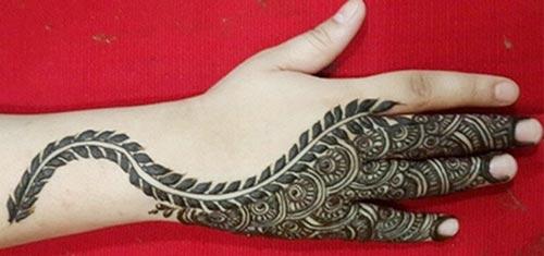 Khaleeji Henna Mehndi Design : Khaleeji henna mehndi designs uae dubai gulf style