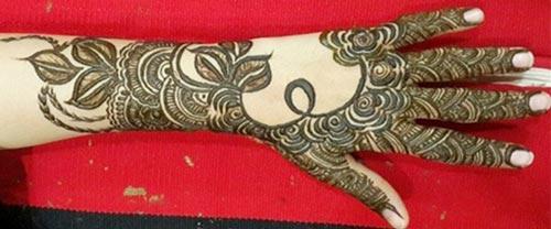 Dubai Arabic Mehndi Henna Design: Khaleeji Henna Mehndi Designs For Hands Dubai UAE Gulf