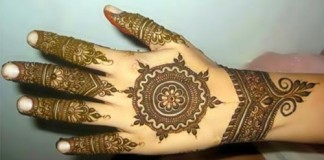 Latest Bridal Omani Henna Designs for Hands, Muscat Mehndi Facebook Pics 2015