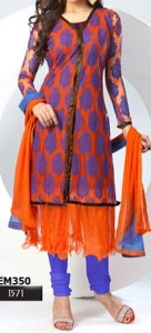 Latest-Dazzling-Jacket-Open-Anarkali-Shirts-Suits-Winter-Collection-2015
