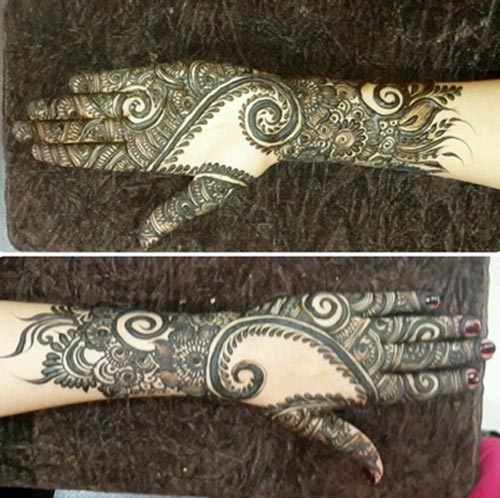Dubai Mehndi Patterns : Khaleeji dubai style mehndi collection joy studio design gallery best