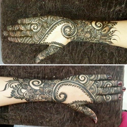 Khaleeji Henna Mehndi Design : Khaleeji henna mehndi designs for hands dubai uae gulf