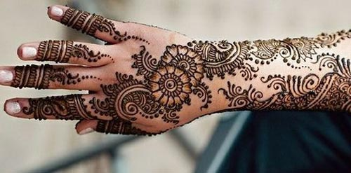 Latest New Dulhan Mehndi Designs Pics Images Wallpaper Free Download