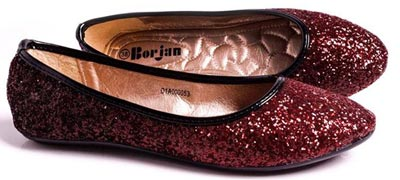 Mahroon Borjan Shoes New Arrival Pumps Winter Collection 2014 Price 2015 Designs Footwear