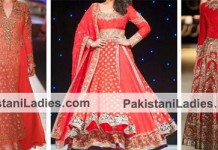 Manish Malhotra Bridal Collection 2015 Lehenga Choli Dresses Frocks