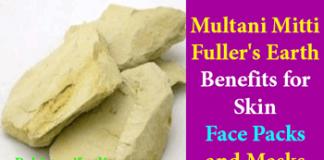 Multani Mitti Fuller's Earth Skin Benefits Face Packs & Masks in Urdu for whitening and fairness