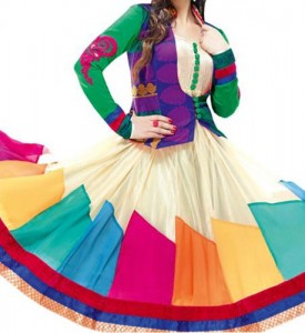 Multi-Color-Anarkali-Fashionable-Colorful-Dresses-Plates-Wali-Shirts-Frock-Kameez-2015