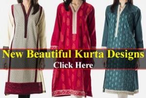 New Beautiful Kurta Designs Girls Women 2015