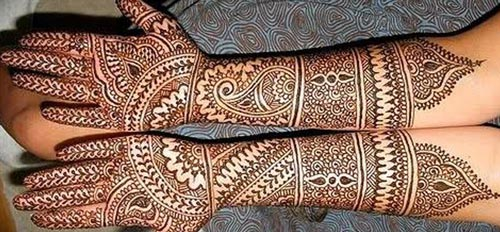 New Indian Dulhan Mehndi Designs Pics Images Wallpaper Free Download