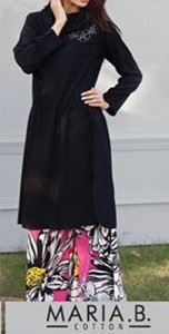 New Plazo Pants Trousers 2015 Dress Designs Stylish Palazzo Long Shirts for Girls India Maria-B