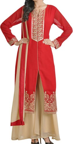 New Plazo Pants Trousers 2015 Suit Designs Stylish Palazzo Long Open Shirt for Girls India