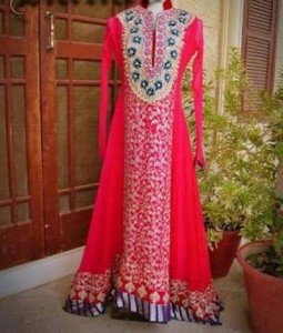 Pakistani-Long-Frock-Gown-Dresses-Collection-2015-Plazo-Palazzo-Designs
