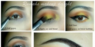 Party Wedding Bridal Eyes Makeup Tips 2015 Eyeshadow Tutorial Step by Step For Brown Eyes Pics Pakistan