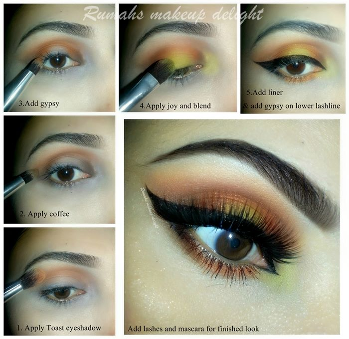 Eyes Makeup 2015 Step by Step images