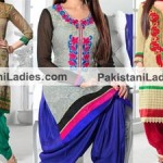 Punjabi Salwar Kameez 2015 Designs and Neck Gala for Suits