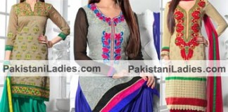 Punjabi Salwar Kameez 2015 Designs and Neck Gala for Suits.