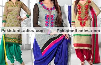 Punjabi Salwar Kameez 2015 Designs and Neck Gala for Suits.
