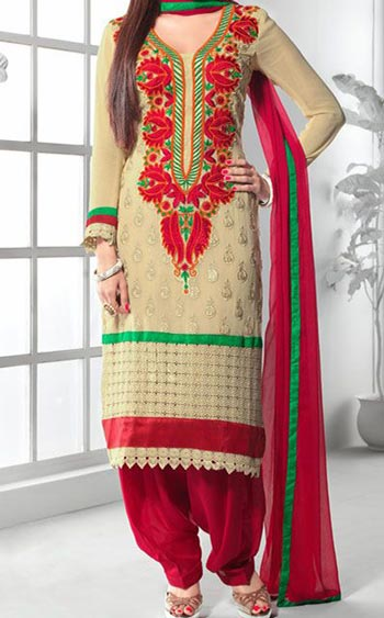Punjabi-Salwar-Kameez-Suits-2015-for-Girls-in-India-Neck-Designs-Long-Kurti