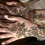 Rajasthani Bombay Delhi Mehndi Designs For Bridal Hands 2015