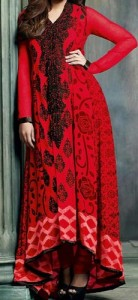 Red Colors Frocks Suits Dress 2015 Gown