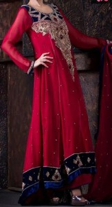 Red Colors Frocks Suits Dress 2015 Tail Gown