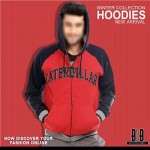 Red Men Boys Hoodies Winter 2015 Stylish New Arrival Zip Up Pull Over Prices Pakistan