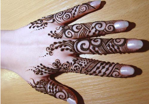 Simple Bridal Beautiful Hands Mehndi Designs 2015 fancy stylish best facebook pinterest 4