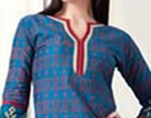Simple Cotton Churidar Suits Neck Gala Designs Patterns Images