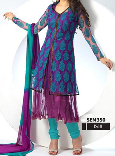 Stylish-Dazzling-Jacket-Open-Anarkali-Shirts-Suits-Winter-Collection-2015