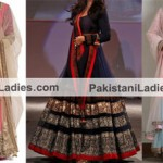 Kalidar Suits Kurta Frocks Designs 2015 by Manish Malhotra