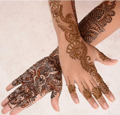 Bridal Mehndi Designs For Hands Dailymotion : Rajasthani bombay delhi mehndi designs for bridal hands