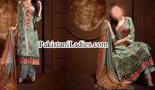 Tawakkal Fabrics Collection Winter Shalwar Kameez Designs 2015 for Women Girls