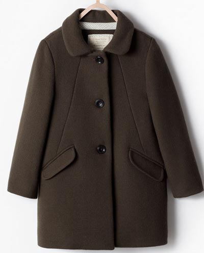 Zara Clothing Kids Winter Collection 2015 UK USA Australia
