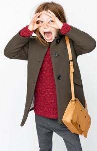 Zara Clothing Kids Winter Collection 2015 UK USA Australia