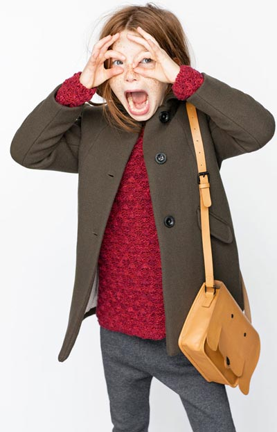 Zara Online Clothing Kids Winter Collection 2015 For Boy Girls